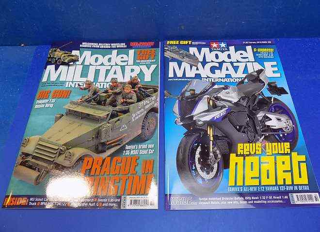 Tamiya Magazines na FREE72 FREE GIFT FOR ORDERS OVER £60 - Model Magazine and Model Military February 2019