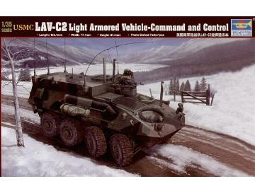 Trumpeter USMC LAV-C2 Light Armored Vehicle Command & Control 00371