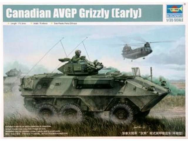 Trumpeter Canadian AVGP Grizzly 6x6 APC (early)