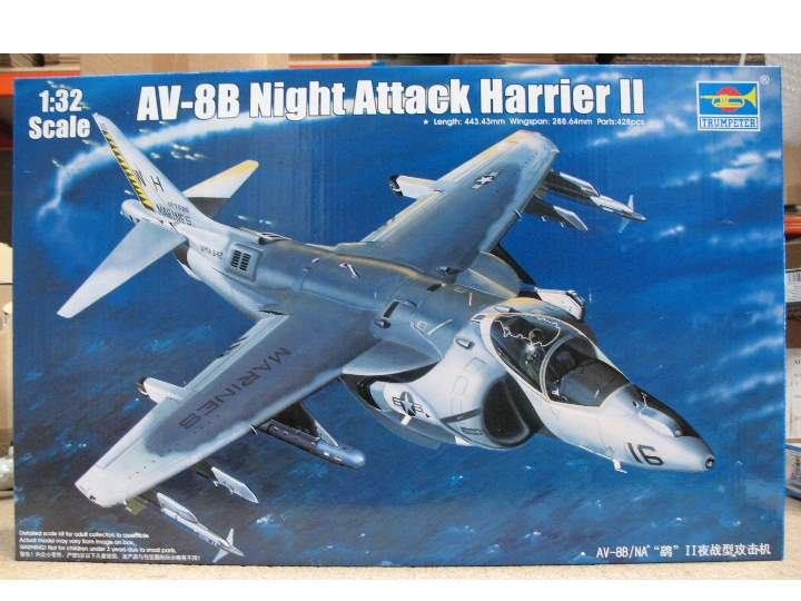 Trumpeter AV-8B Night Attack Harrier II 02285