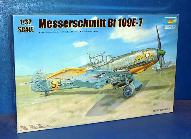 Trumpeter Me Bf109 E-7