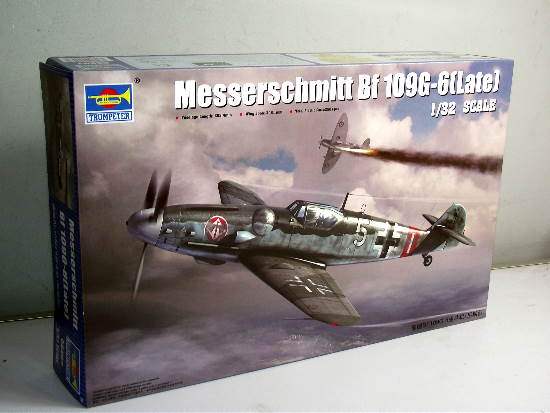Trumpeter Me Bf109G-6 (Late) 02297