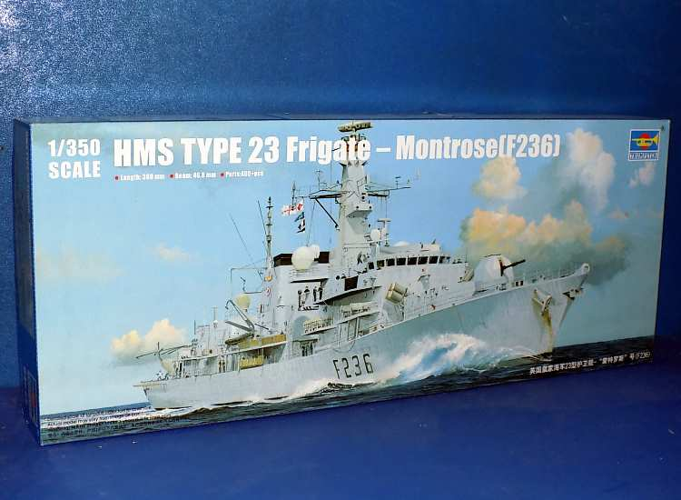 Trumpeter HMS Montrose F236 Type 23 Frigate 04545