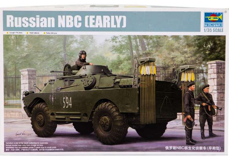 Trumpeter Russian NBC (Early) 05513
