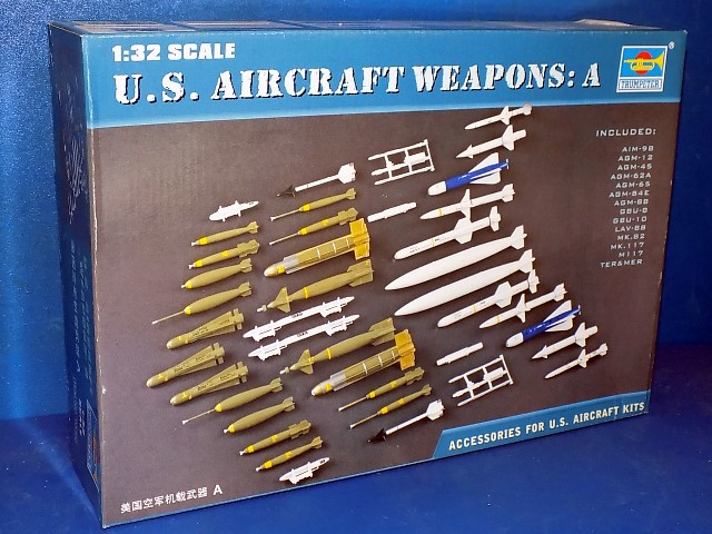 Trumpeter US Aircraft Weapons I - DAMAGED BOX 3302