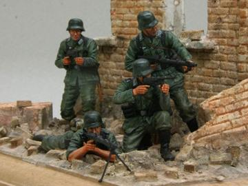 Tristar 1/35 35027 German Infantry 'The Barrage Wall'