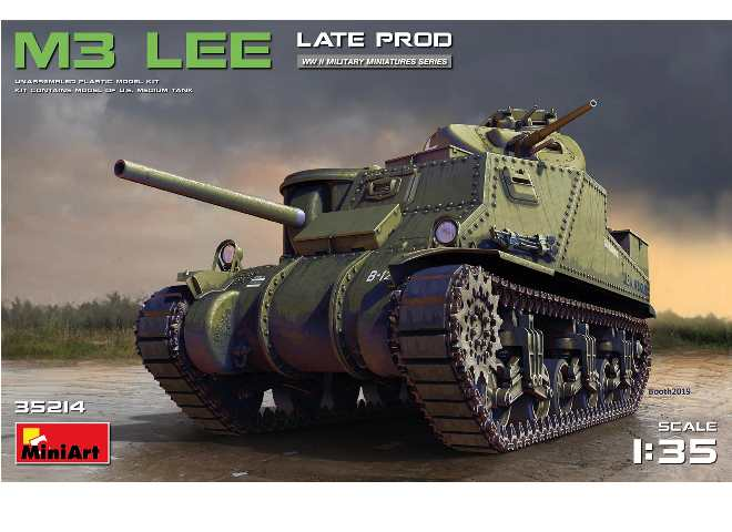 Miniart M3 Lee - Late Production
