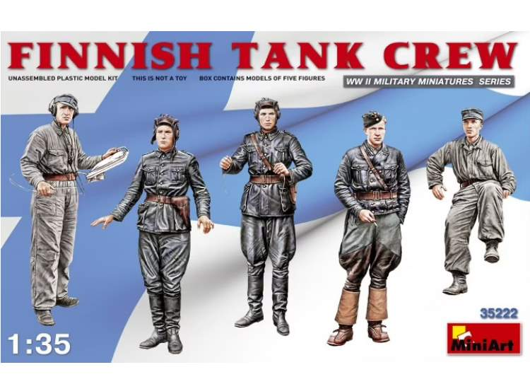 Miniart 1/35 35222 Finnish Tank Crew