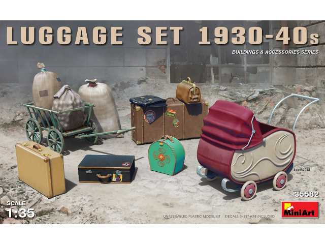 Miniart 1/35 35582 Luggage Set 1930-40s