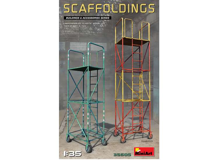 Miniart Scaffoldings 35605