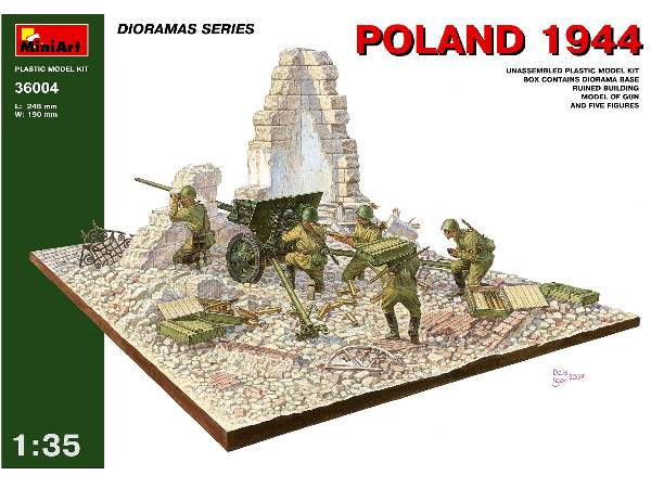 Plastic Model Kits - Shipped Next Day from the UK  - Dioramas
