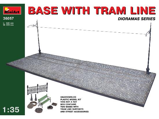 Base with Tram Line