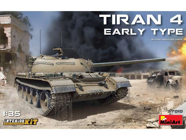 Tiran 4 Early Type - Interior Kit