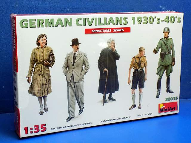 Miniart German Civilians 1930-40s