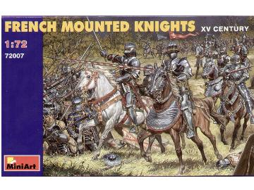 Miniart 1/72 72007 French Mounted Knights
