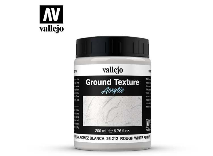 Vallejo Stone Texture - Rough White Pumice