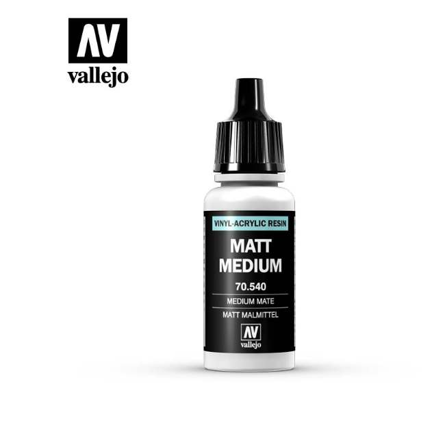 Vallejo 17ml 540 189 Model Color - Matte Medium 540