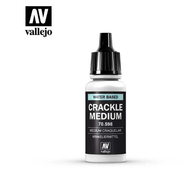 Vallejo 17ml 598 198 Model Color - Crackle Medium 598