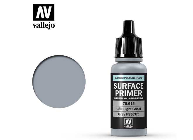 Vallejo Polyurethane Primer - USN Light Ghost Grey FS6375