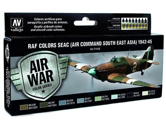 Vallejo Model Air Set - RAF Colours SEAC 1942-1945