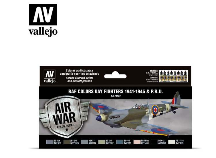 Vallejo Model Air Set - WWII RAF Day Fighters