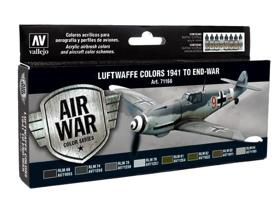 Vallejo Model Air Set - Luftwaffe Colours 1941 to end-war