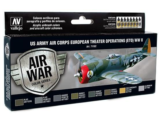 Vallejo Model Air Set -  US Air Corps ETO WWII