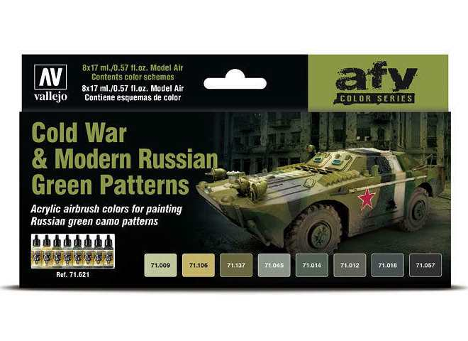 Model Air Set - Cold War and Modern Russian Green Patterns
