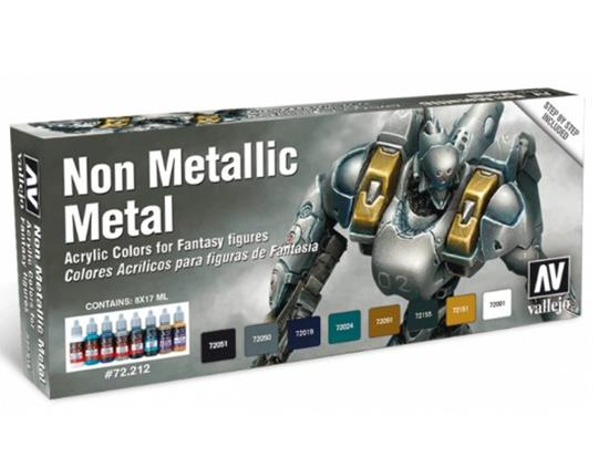Vallejo Game Color Set - Non Metallic Metal
