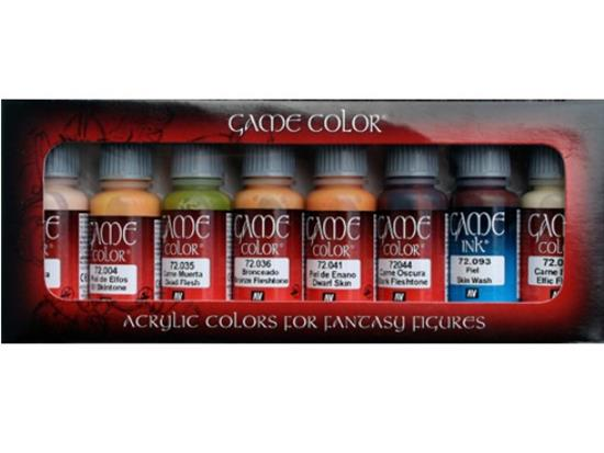 Vallejo Game Color Set - Skintones x 8