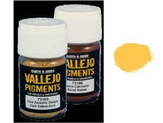 Vallejo Pigments - 73102 Light Yellow Ocre
