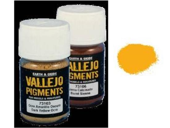 Vallejo Pigments - 73103 Dark Yellow Ocre