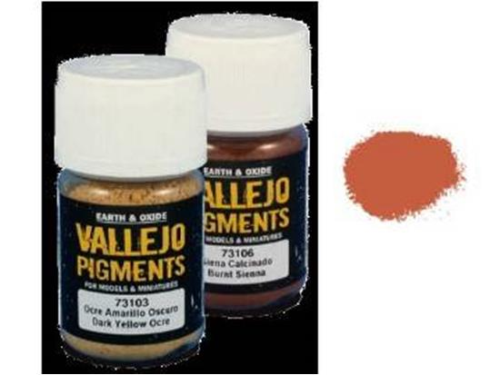 Pigments - 73107 Dark Red Ocre