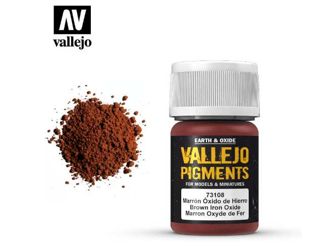 Pigments - 73108 Brown Iron Oxide