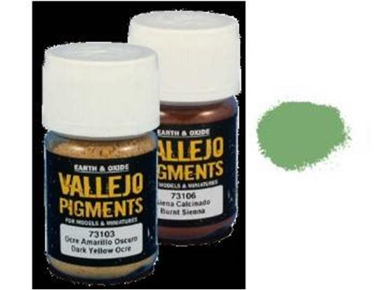 Vallejo Pigments - 73112 Chrome Oxide Green