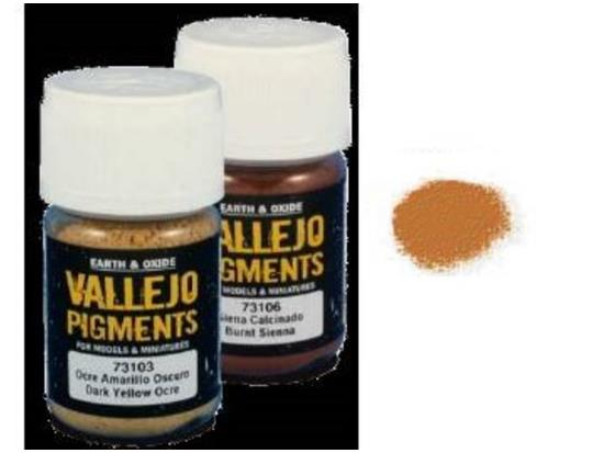 Vallejo Pigments - 73117 Rust