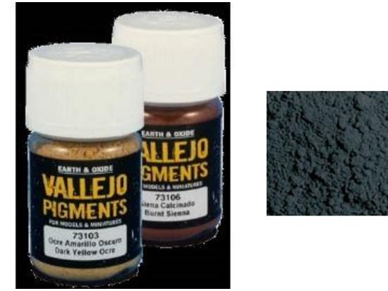 Vallejo Pigments - 73123 Dark Steel