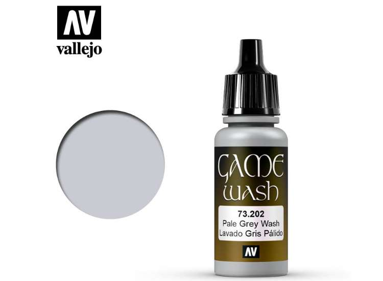 Vallejo Pale Grey Shade Wash