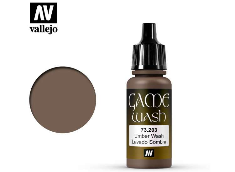 Vallejo Umber Shade Wash
