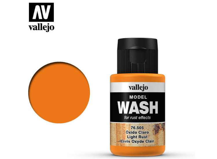 Vallejo Light Rust Wash