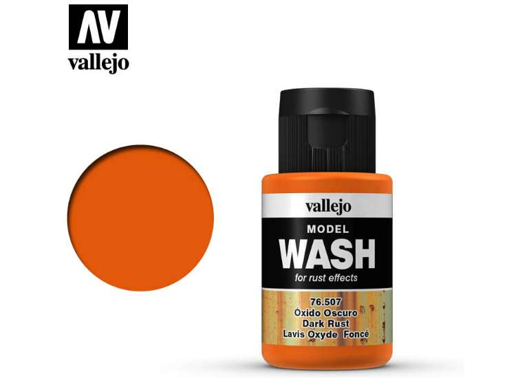 Vallejo Dark Rust Wash
