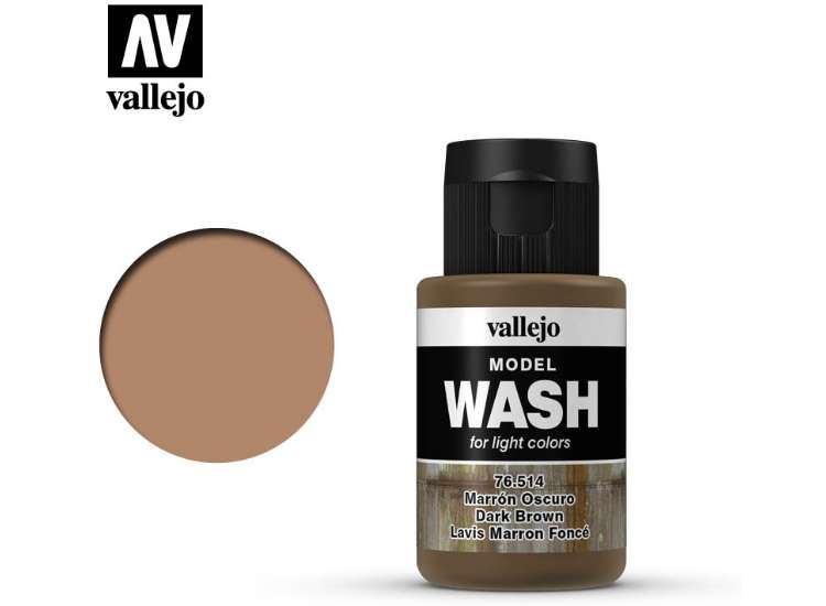Vallejo Dark Brown Wash