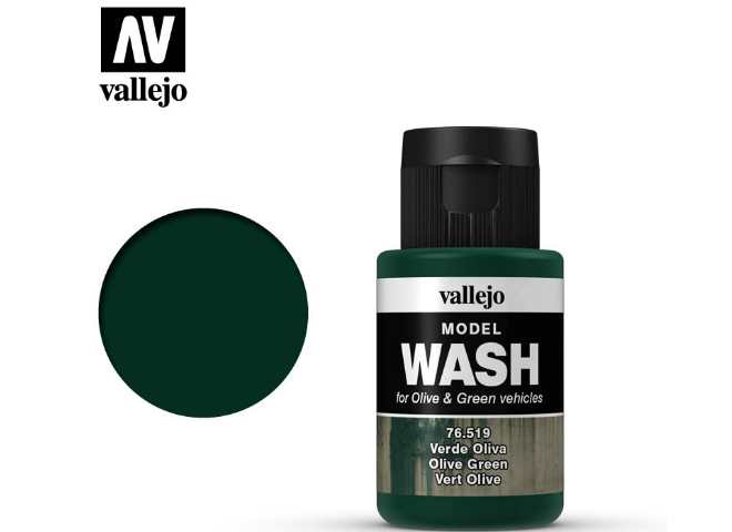 Vallejo Olive Green Wash