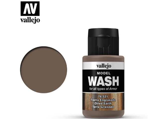 Vallejo Oiled Earth Wash
