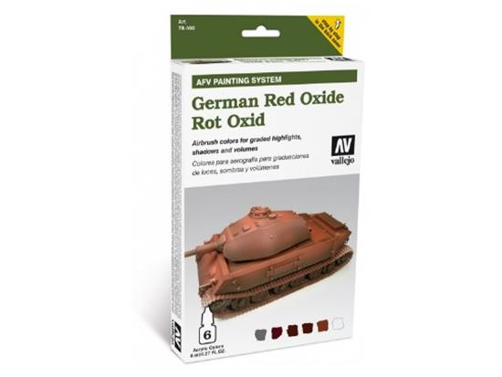 Vallejo AFV Painting System German Red Oxide