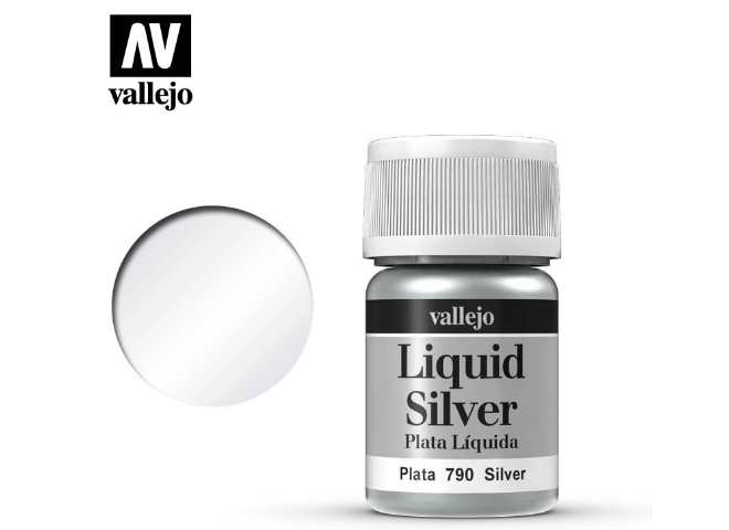 Vallejo 211 Model Color - Metallic Silver