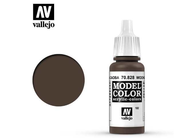Vallejo 17ml 828 182 Model Color - Transparent Woodgrain 828