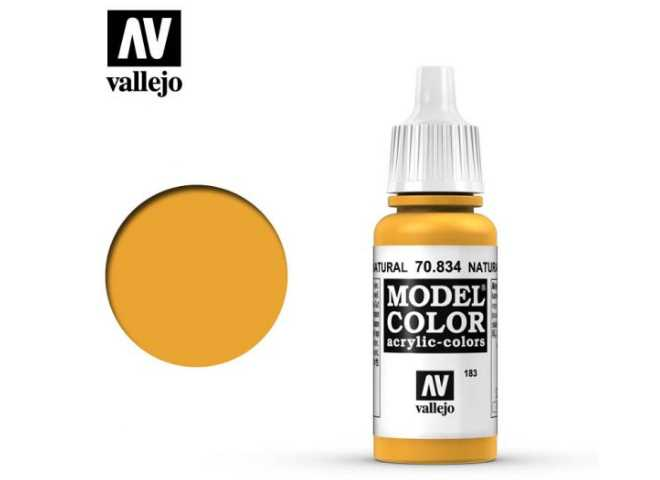 Vallejo 17ml 834 183 Model Color - Transparent Natural Wood 834