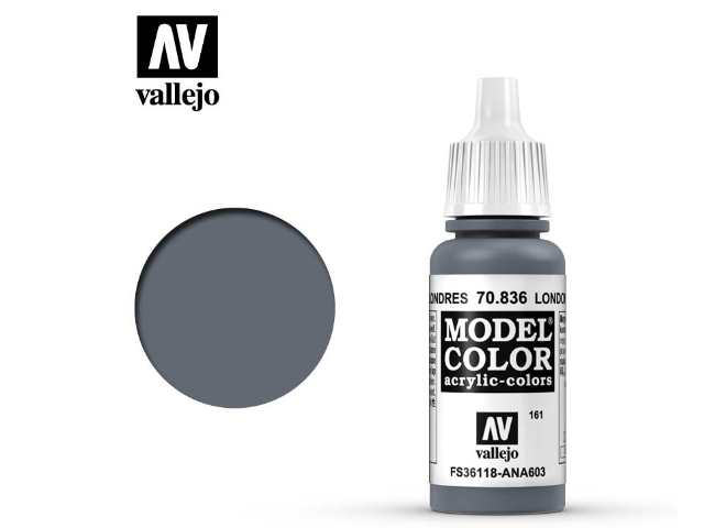 Vallejo 17ml 836 161 Model Color - London Grey 836