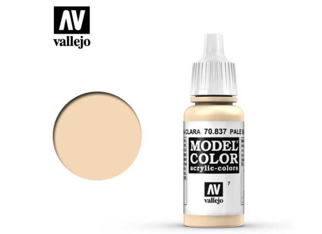 Vallejo 17ml 837 007 Model Color - Pale Sand 837